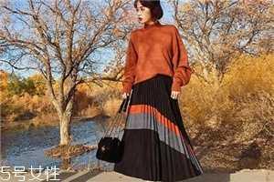 长裙子怎么搭外套 过膝长裙怎么搭配