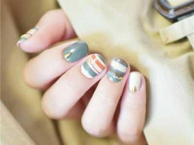 短指甲美甲?#21450;?好看的短指甲美甲款式