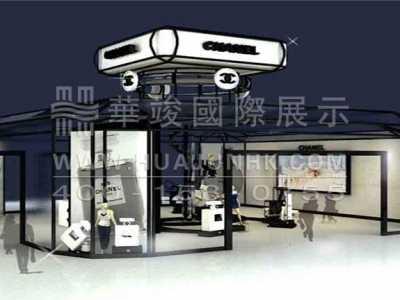 香奈儿展厅设计说明 香奈儿展览展厅设计说明之展示设计亮点